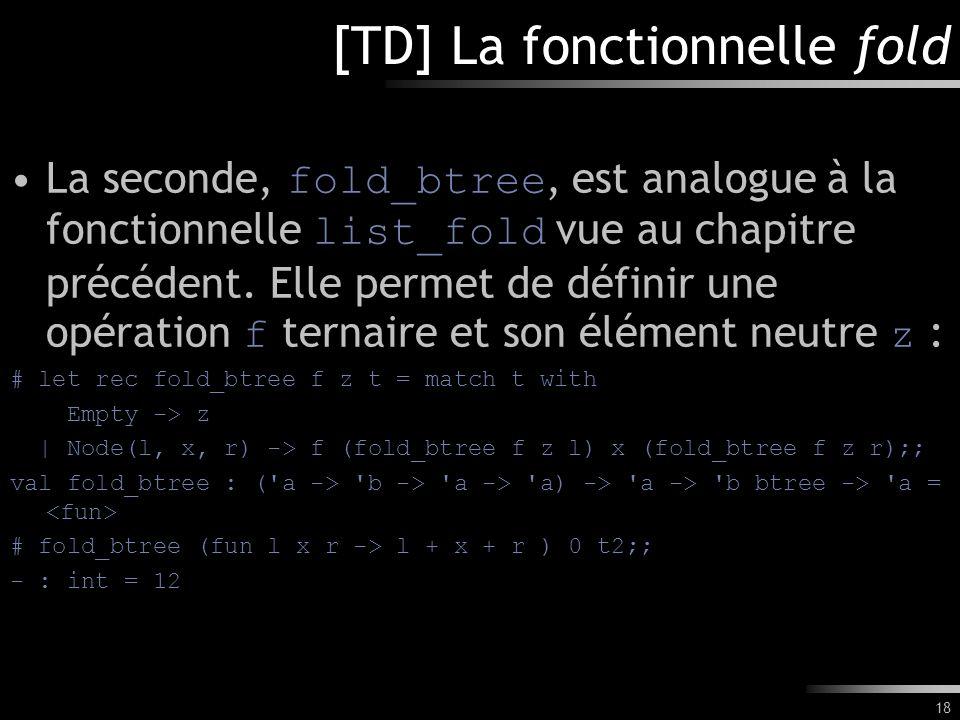 [TD] La fonctionnelle fold